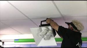 how to install recessed lighting in drop ceiling lovely how to install can lights in a drop ceiling contemporary