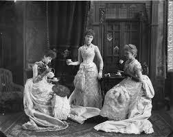 faces of the victorian era u201cmiss evans and friends u201d c 1887 the
