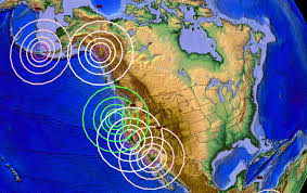 Oregon Earthquake Map by 5 22 2015 U2014 Whole West Coast Moved Over 48 Hours U2014 Oregon