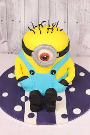 Minion Cake Decorations How To Make A Minion Cake My Kitchen Stories