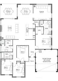 barn house open floor plans example of concept home plan the