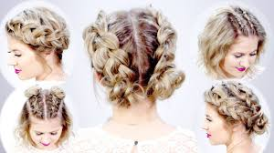 bailey u0027s double dutch buns hair tutorial hairstyles for short hair