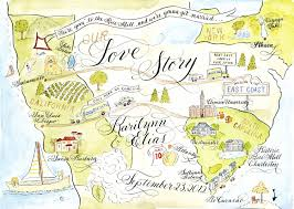 print at home wedding programs watercolor wedding story map diy print at home or order