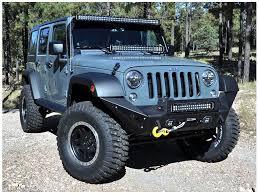 jeep wrangler blue headlights kc hilites wrangler led headlight 7 in pair 42321 07 17 wrangler