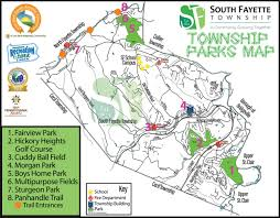 parks map parks south fayette township pa official website