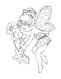 popular free printable fairy coloring pages 1021 unknown