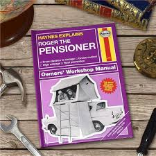 personalised book haynes explains the pensioner