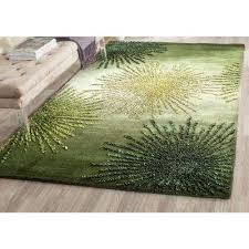 Rug Green 5 X 8 Area Rugs Rugs The Home Depot