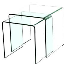 acrylic nesting tables target nesting tables target glass nesting tables 2 piece clear bent glass