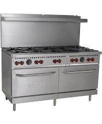 vulcan gas stove pilot light 60 gas range 2 standard ovens 10 open top gas burners vulcan