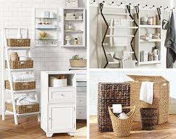 barn bathroom ideas bathroom storage pottery barn