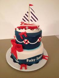 nautical baby shower cakes nautical baby shower cake 2 bits bites from the cake