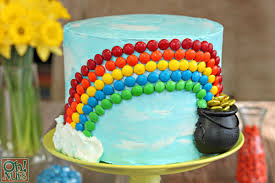 candy rainbow cake oh nuts blog