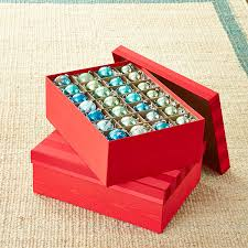 moiré archival ornament storage box the container store