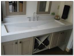 bathroom trough sink shocking double trough sink vanity and home design ideas of