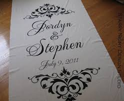 personalized aisle runner aisle runner wedding aisle runner custom aisle runner with