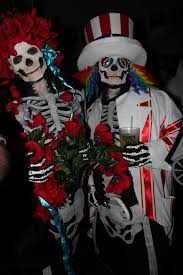 image result for grateful dead skull bertha costume