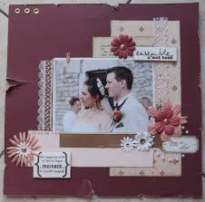scrapbooking mariage scrapbooking pages mariage