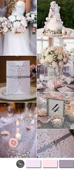 and silver wedding six beautiful pink and grey wedding color combos with invitations