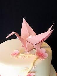 Origami Wedding Cake - 41 trendy origami wedding ideas happywedd