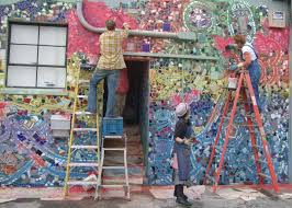 zagar commissions projects philadelphia s magic gardens 5 public facade alameda ca this mosaic mural