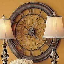 large wall clock metal wall clocks large foter