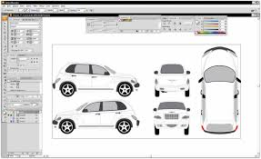car wrapping design software vehicle wrap template work stuff wraps