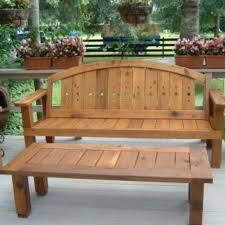 Red Cedar Outdoor Furniture by Custom Red Cedar Outdoor Bench Unit By Figueroa U0027s Fine Custom