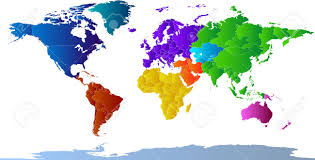World Map Labled by World Map Clipart