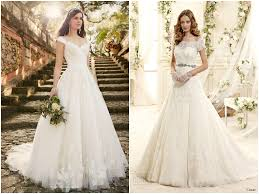 lace cap sleeve wedding dress bridal dresses with short sleeves