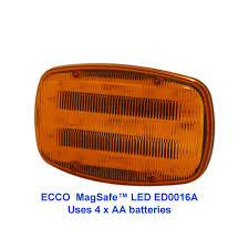 ecco led offroad lights ecco magnetic battery powered led warning light pn ed0016a