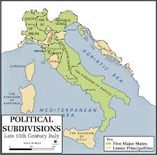 map of italy images map of italy 1490 usma