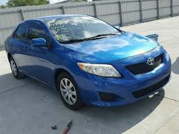 2010 toyota corolla s blue 2010 toyota corolla s photos salvage car auction copart usa