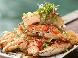 salt and pepper red crab cua rang muoi recipes cooking