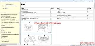 mitsubishi i miev 2012 eur service manual auto repair manual