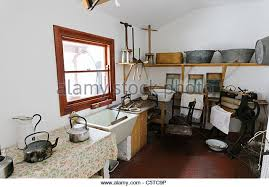 Old Fashioned Kitchen Victorian Kitchen Scullery Stock Photos U0026 Victorian Kitchen