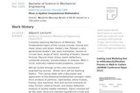 Resume For Lecturer In Engineering College Ssds Test Engineer Sample Resume Nardellidesign Com