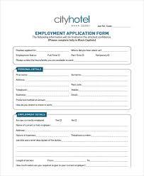 33 job application templates free u0026 premium templates