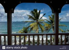 caribbean grenada ocean view from petite anse hotel at laurant