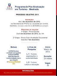 10 fevereiro 2013 ucs l ppgturh universidade de caxias do sul 2012