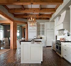 Brick Floor Kitchen by Painted Brick Floor Nana U0027s Workshop