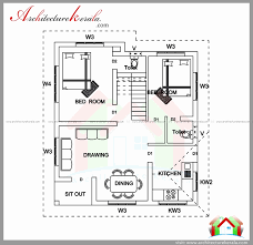 Kerala Home Design 2 Bedroom | 1000 sq ft floor plans unique free home plans kerala new 1000 sq ft