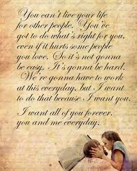 best 25 quotes from the notebook ideas on the