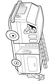 printable fire truck coloring pages coloringpagebook