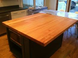 butcher block top table tops square hard maple butcher block top
