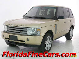 gold range rover 2004 maya gold metallic land rover range rover hse 14356961