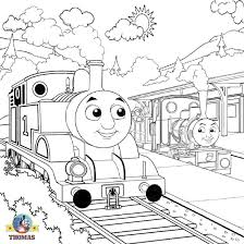100 thomas train engine coloring pages james red