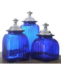 blue kitchen canister set 41 best kitchen canisters images on kitchen canisters