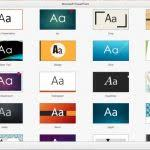 new microsoft powerpoint templates presentation gallery in