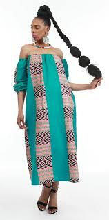 african print turquoise off shoulder maxi dress ankara prints